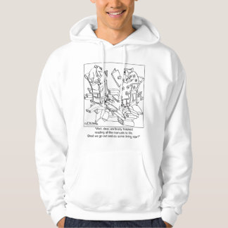 Read Every How To Live Manual Hoodie