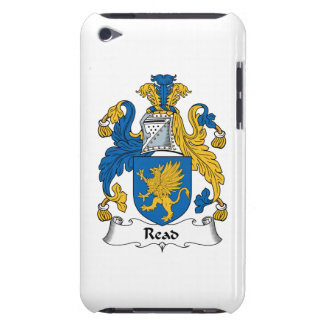 Read Family Crest Barely There iPod Case