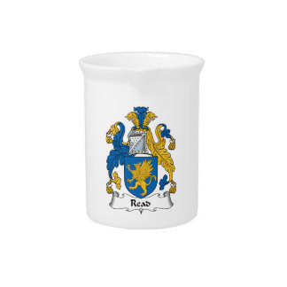 Read Family Crest Beverage Pitchers