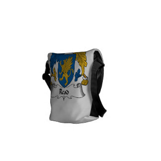 Read Family Crest Courier Bag