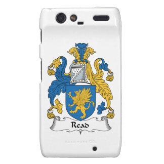 Read Family Crest Droid RAZR Covers