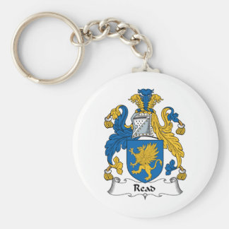 Read Family Crest Key Chains