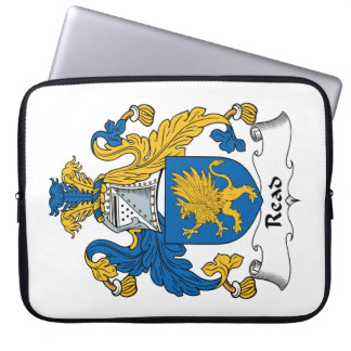 Read Family Crest Laptop Sleeves