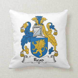 Read Family Crest Pillows