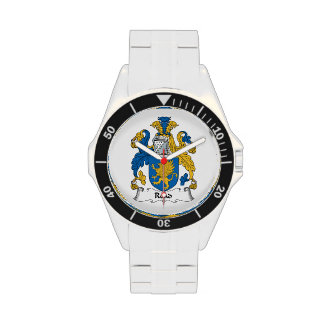 Read Family Crest Wristwatches
