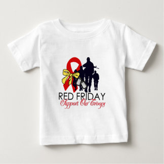 Read Friday - Support Our Troops Baby T-Shirt