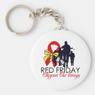 Read Friday - Support Our Troops Key Chain