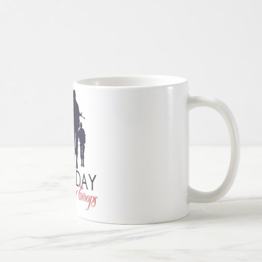 Read Friday - Support Our Troops Mugs