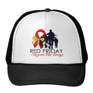 Read Friday - Support Our Troops Trucker Hat