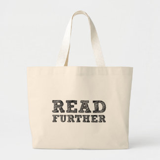 Read Further Tote Bags