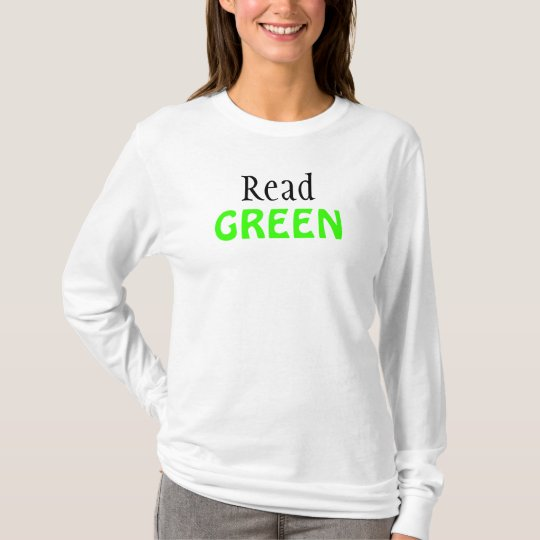 Read GREEN Women's Hoodie