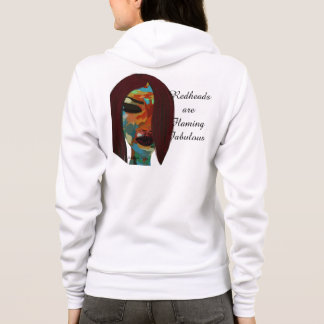 Read heads are flaming fabulous hoodie