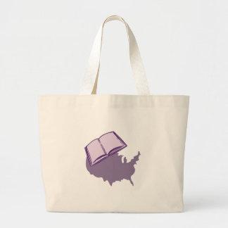 Read History Jumbo Tote Bag