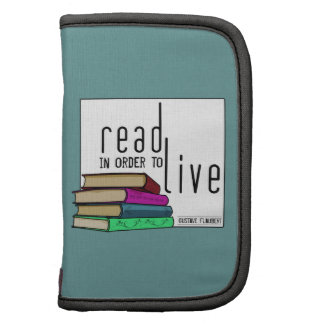 Read In Order To Live for book lovers Organizers