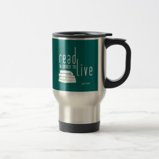 Read in order to Live Coffee Mugs