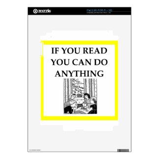 READ iPad 2 DECAL