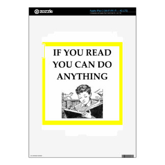 READ iPad 3 DECALS