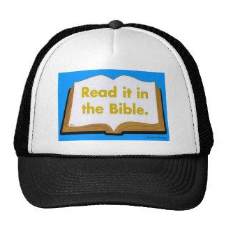 Read it in the Bible Trucker Hat