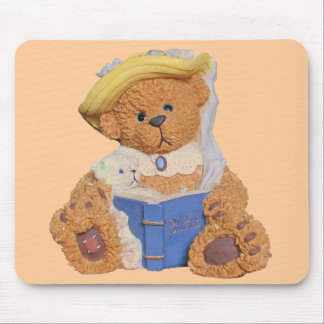 Read It To Me Again Mommy. Teddy Bears Mouse Pad