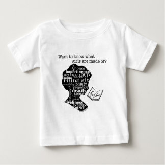 Read Jane Austen Baby T-Shirt