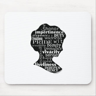 Read Jane Austen Cameo Mouse Pad