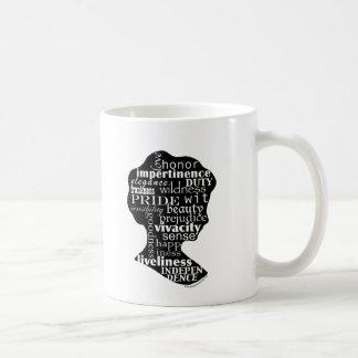 Read Jane Austen Cameo Mug