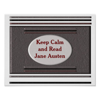 Read Jane Austen - poster
