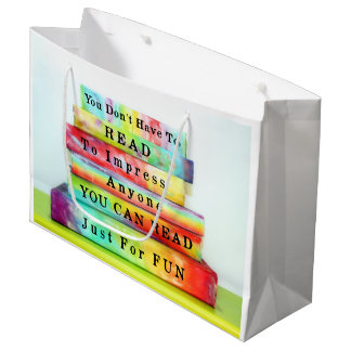 Read Just For Fun Large Gift Bag