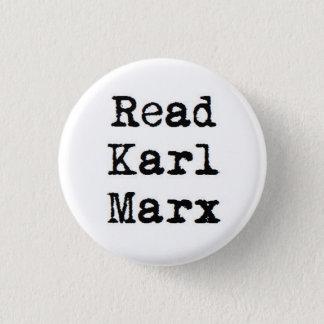 Read Karl Marx Pinback Button
