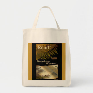Read Knowledge is Power Bag