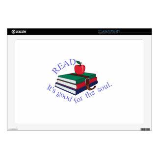 Read Laptop Decals