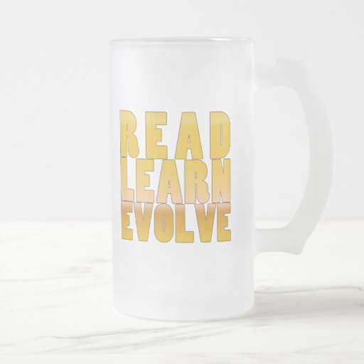 Read. Learn. Evolve. Coffee Mug