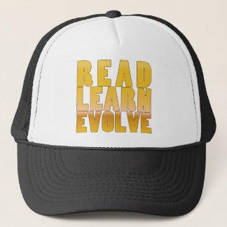 Read. Learn. Evolve. Trucker Hat