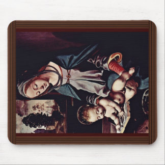 Read-Madonna And Christ Child By Piero Di Cosimo ( Mouse Pad