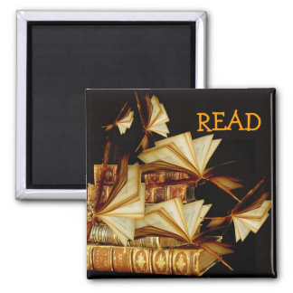 READ 2 INCH SQUARE MAGNET