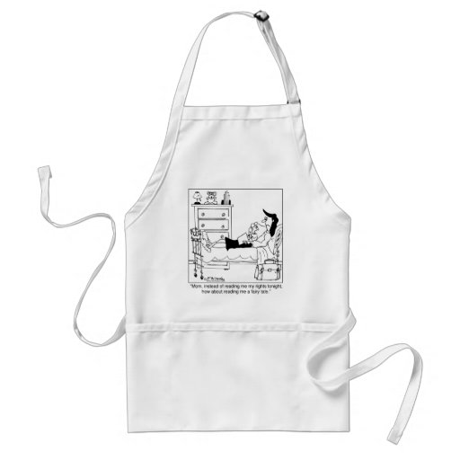 Read Me a Fairy Tale, Not My Rights Aprons