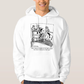 Read Me A Fairy Tale, Not My Rights Hoodie