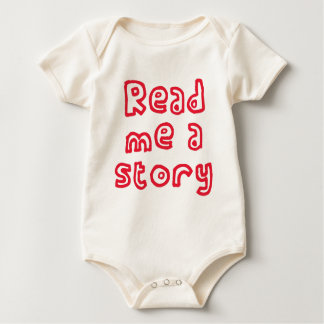 Read me a story! baby bodysuit