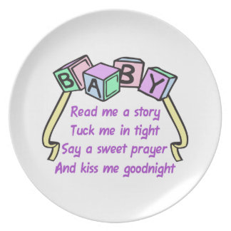 READ ME A STORY DINNER PLATE