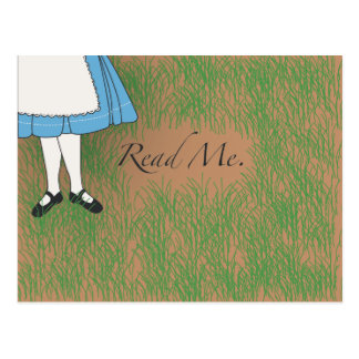 Read Me Postcard
