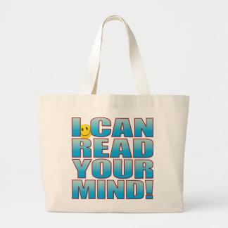 Read Mind Life B Large Tote Bag