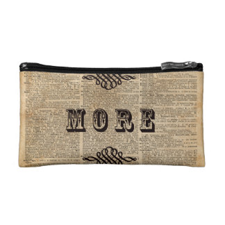 Read More Book Illustration Dictionary Page Art Makeup Bag