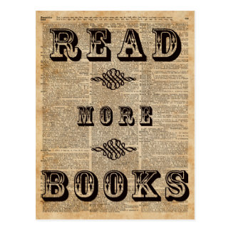 Read More Book Illustration Dictionary Page Art Postcard