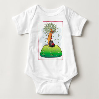Read-more-books-and-earn-money.jpg Baby Bodysuit