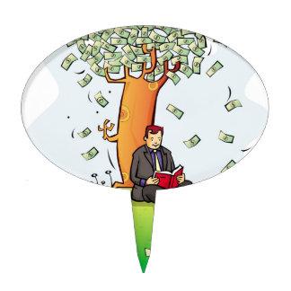 Read-more-books-and-earn-money.jpg Cake Topper