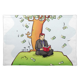 Read-more-books-and-earn-money.jpg Cloth Placemat