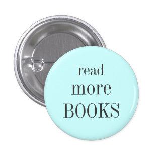 Read More Books Pinback Button