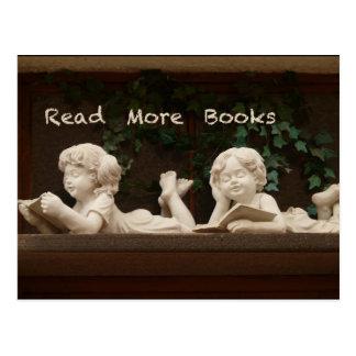 Read More Books Postcards