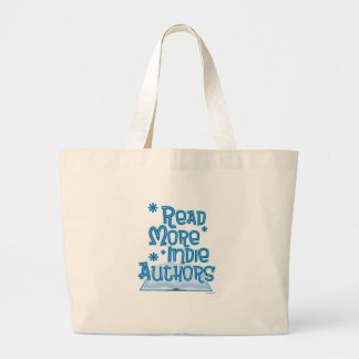 Read More Indie Authors Large Tote Bag