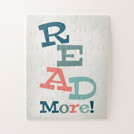 Read More - Retro Colorful Reading Jigsaw Puzzle